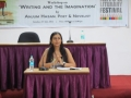 Workshop on 'Writing and the Imagination' by Anjum Hasan, Poet & Novelist was held on 21st July, 2012
